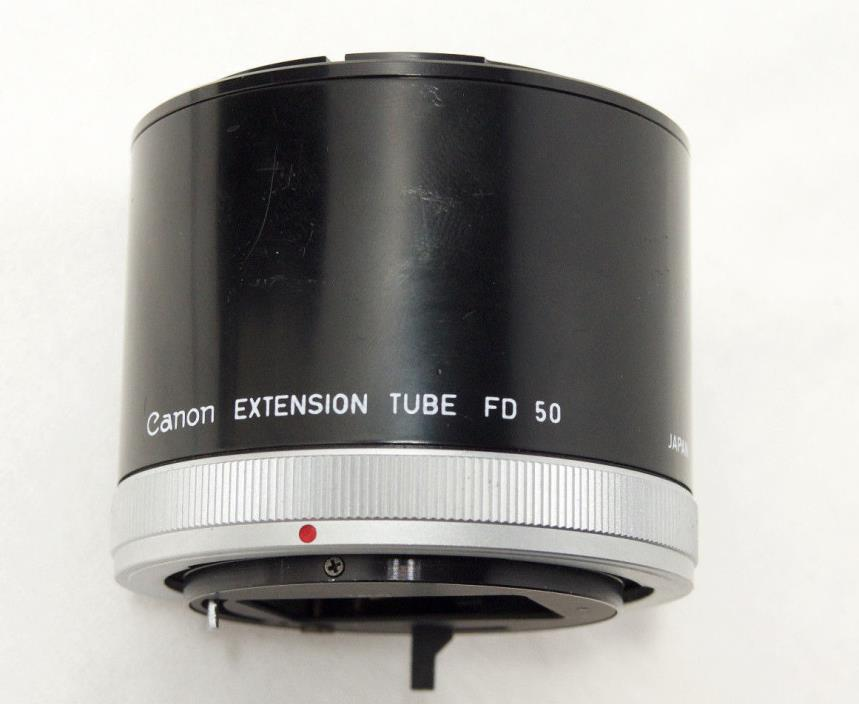 Canon Extension Tube FD 50 for FD mount SLR Canon AE Series Film Camera