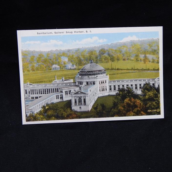 SANITARIUM, SAILORS' SNUG HARBOR, S.I. POSTCARD (25A)