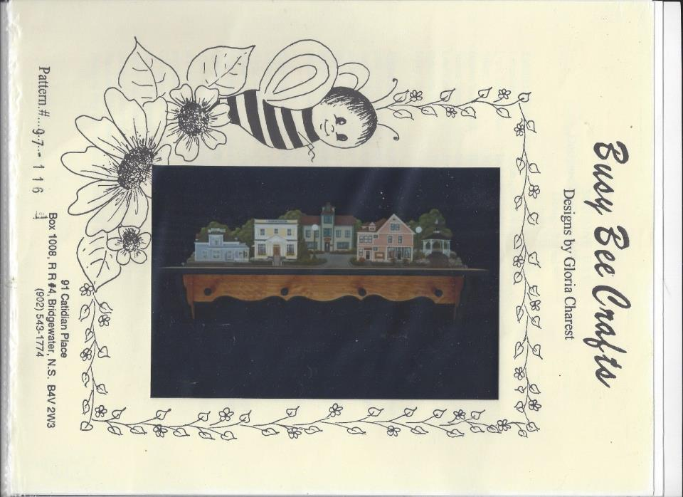 Mahone Bay Tole Painting Packet by Gloria Charest