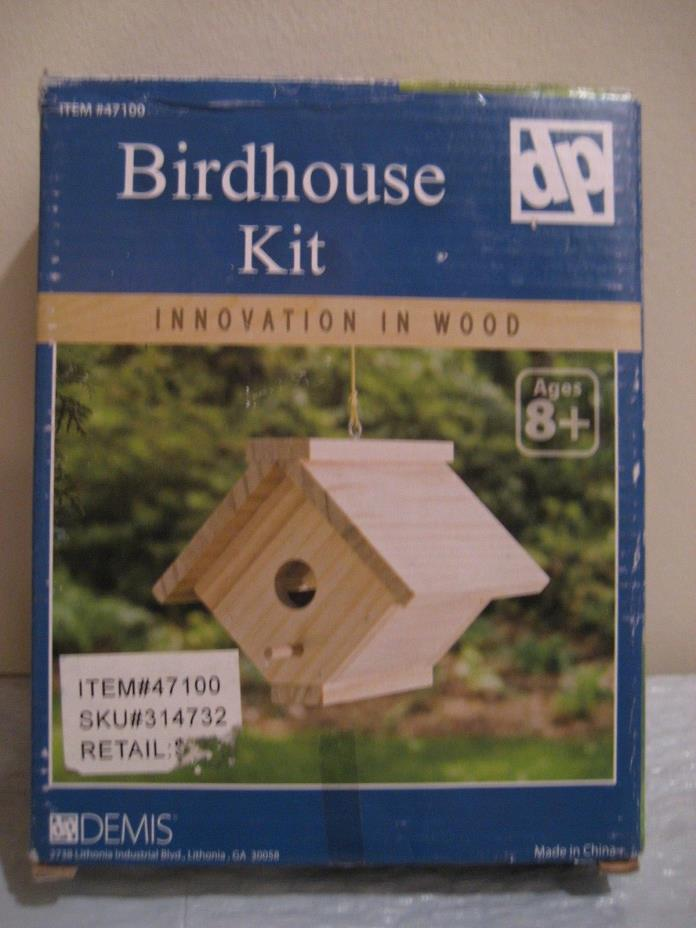 BIRDHOUSE KIT by dp brand new in box