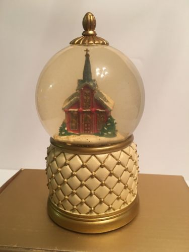 Mr. Christmas Musical Lighted Church Snow Globe
