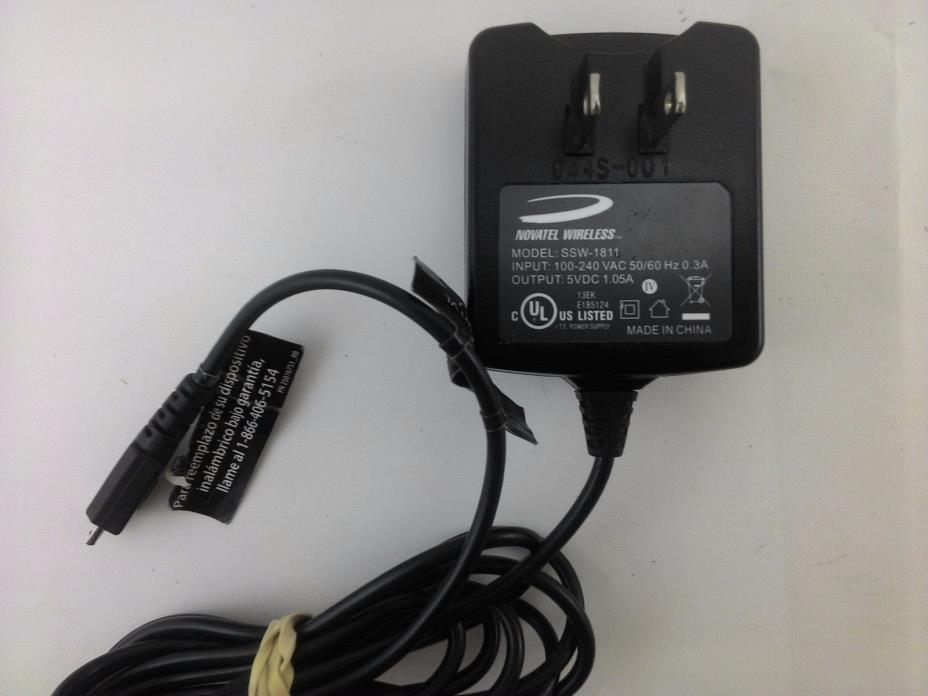 Novatel Wireless SSW-1811 5V 1.05A Adapter