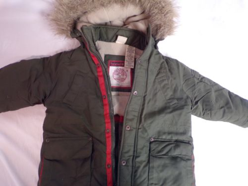 Timberland Coat 2T Winter Boys Jacket Pockets Kids Snow HOOD
