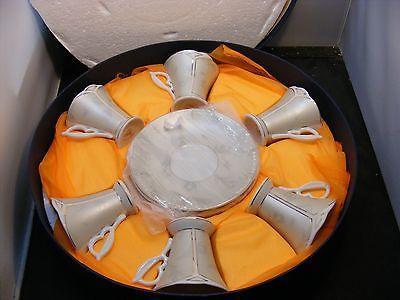 vintage  porcelain cups saucers set