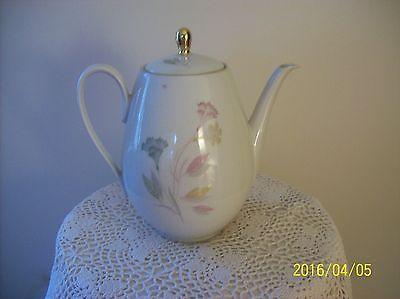 Winterling Roslau Bavaria Porcelain China Vintage Tall Pastel Floral Pattern
