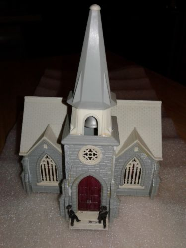 Ho Scale Church Building-vintage-Good condition-multi color.