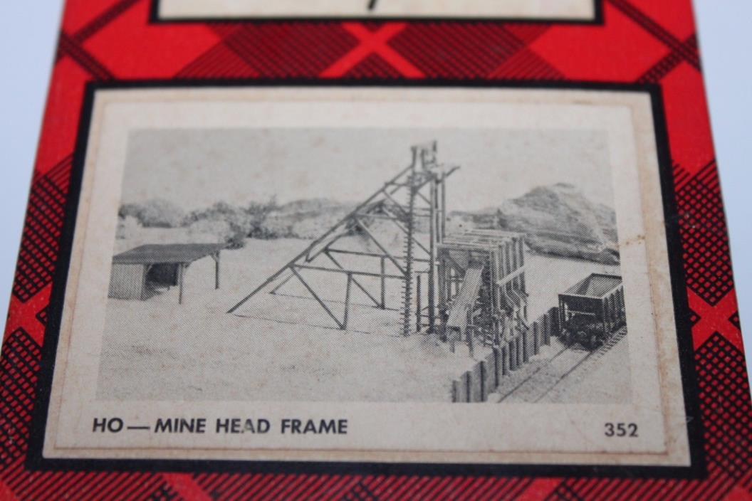 HO Scale Campbell Scale Models 352 Mine Head Frame Kit  C749