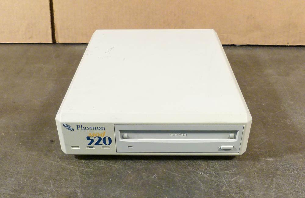 Plasmon MOD 520 Exernal SCSI 5.2GB MO Disk Drive MOD 520e