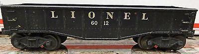LIONEL 6012 GONDOLA CAR