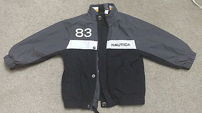 Nautica Toddler Boy Long Sleeve Zip Up Jacket Coat Size 24 Months