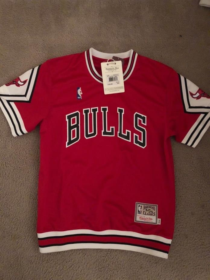 Chicago Bulls NBA Mitchell & Ness Men's Authentic Shooting T-Shirt
