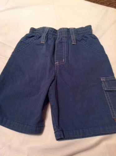 Charlie Rocket Boy 3t Dusty Blue Short With Pockets And Elastic Waist