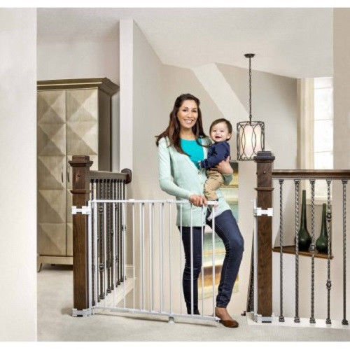 Regalo Top of Stairs Baby Gate, 26