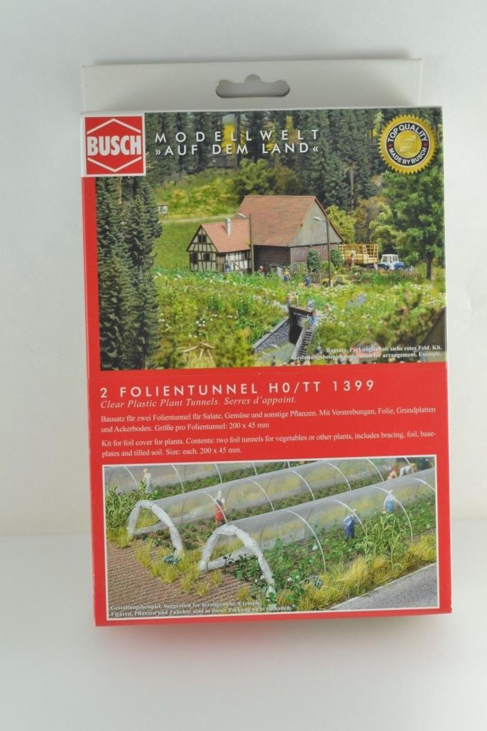BUSCH 1399 2  Foil Covers Garden HO Scale