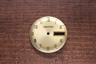 Vintage Accutron 218 watch dial