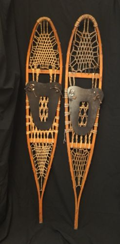 "Large/Long Snowshoes, 56"" x 10"", Nice Condition"