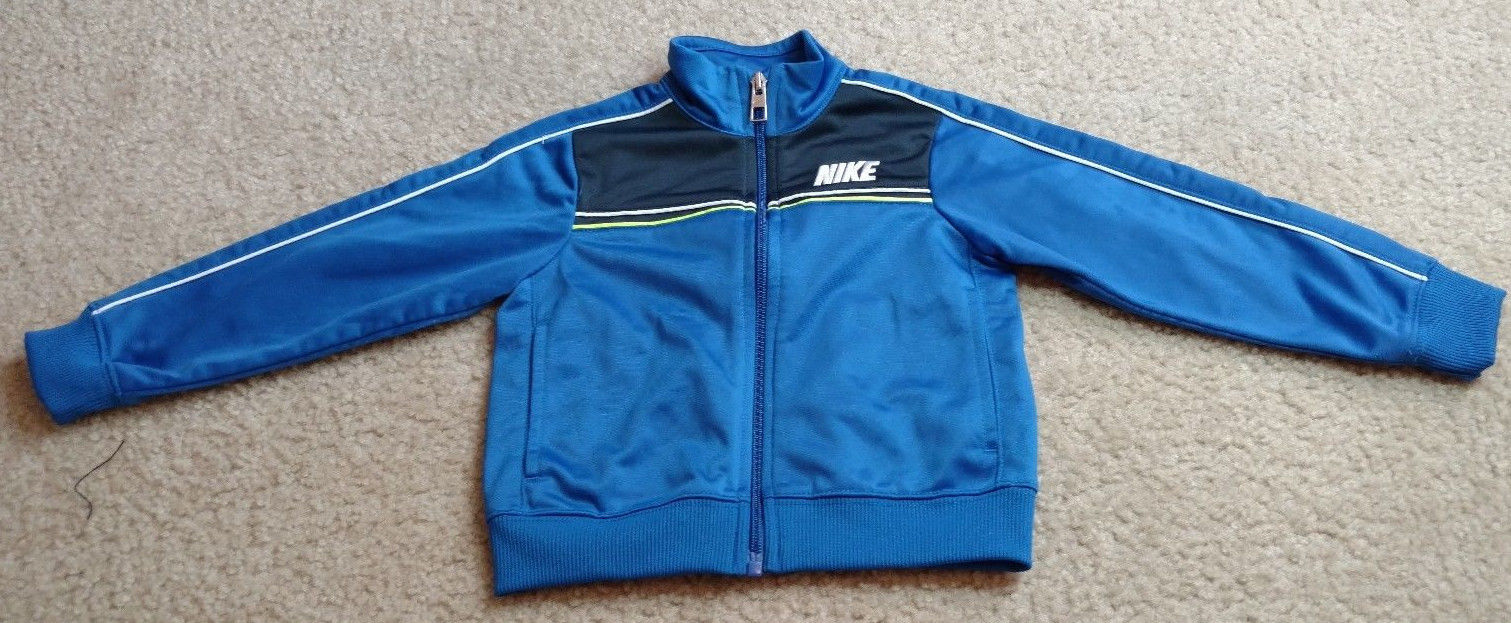 Nike Toddler Boys Long Sleeve Zip Up Jacket Size 2T