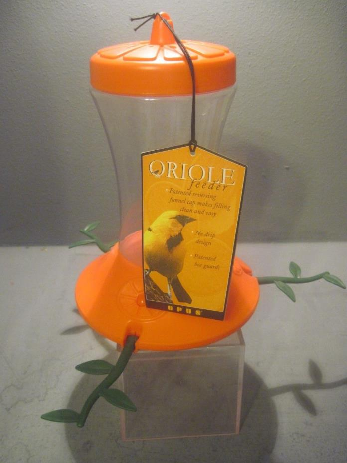OPUS PLASTIC NECTAR  ORIOLE FEEDER WITH BEE GUARDS