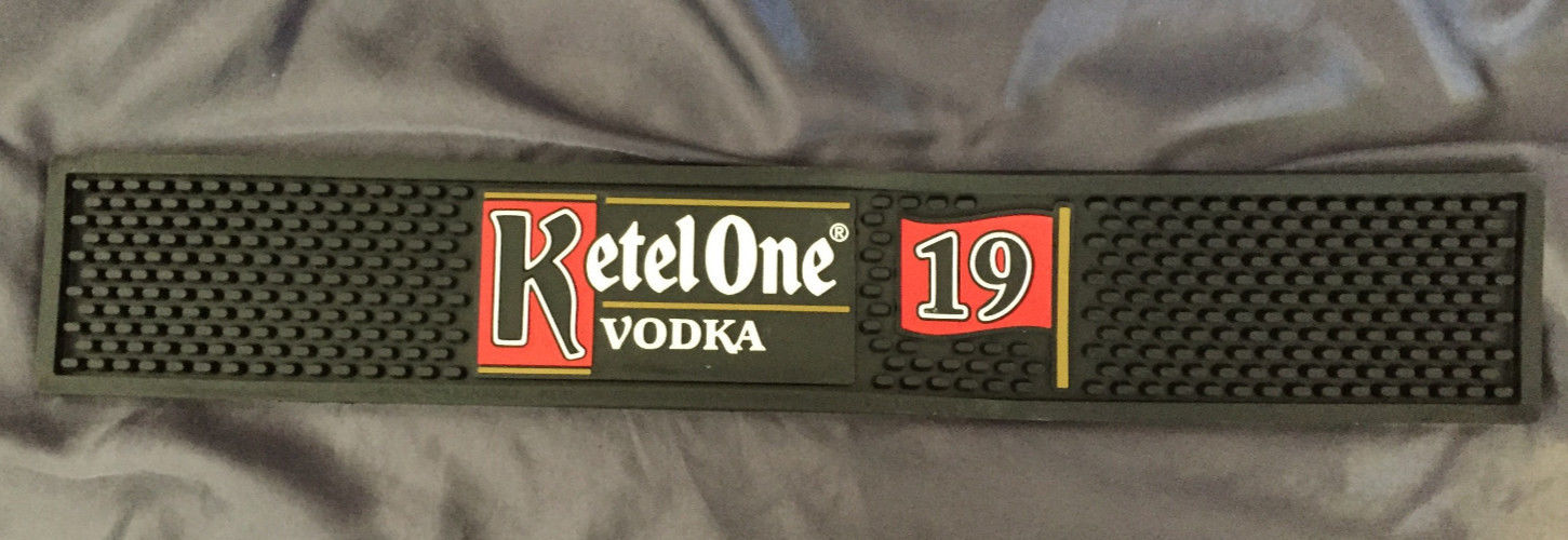RARE Ketel One Vodka 19TH HOLE Bar Rail Spill Mat - BRAND NEW