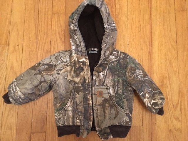 Carharrt RealTree Camo Toddler Jacket 2T