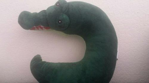 Critter Piller Kid's Neck Pillow, Alligator NWOT