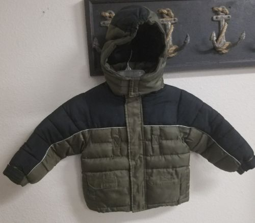 Timber Toddler Boys 2T Warmest Hooded Puffer Coat Jacket NEW without Tags MINT