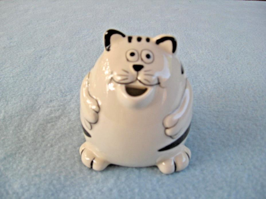 Vintage Pier 1 Imports Chubby Cat Creamer