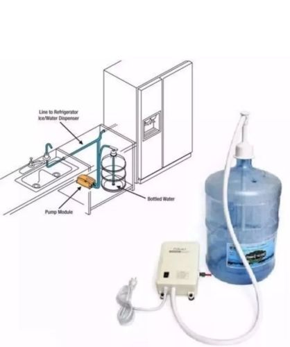 120v AC Bottled Water Dispensing Pump System Replaces Bunn Flojet -BM