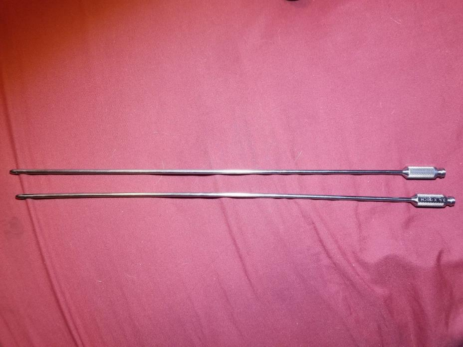 Harvester Mercedes Surgical Cannula  3.4mm x 30cm Liposuction Pre Owned