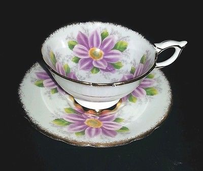 Royal Stafford Teacup & Saucer Set