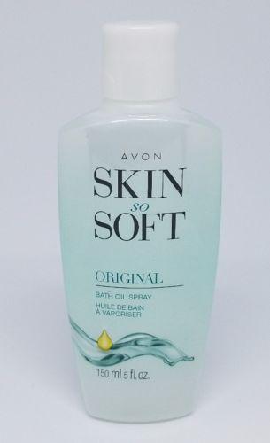 Avon Skin So Soft Original Scent Bath Oil Spray 5 Fl Oz NEW