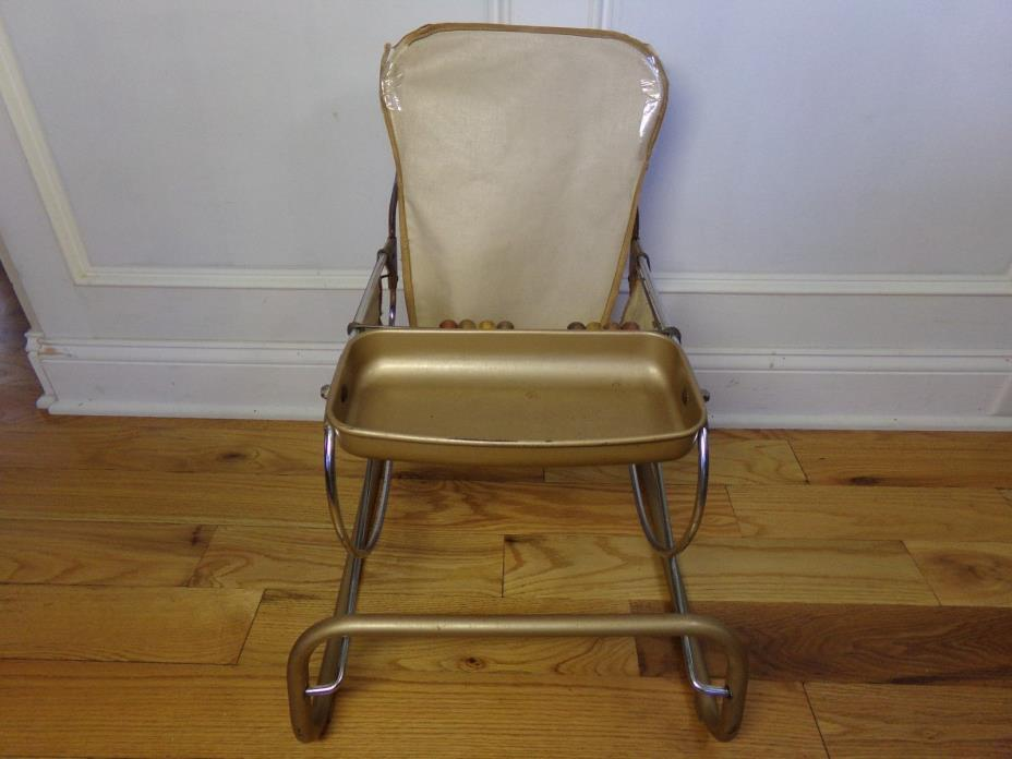 Vintage 1940's/1950's  Baby Bounce Chair/Walker