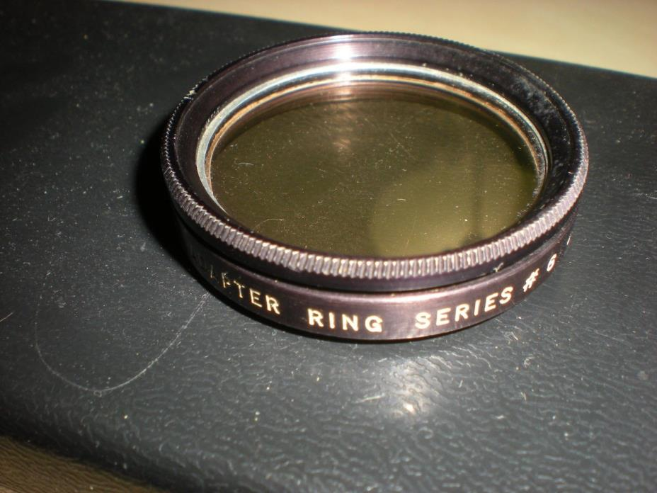 Ednalite #659 & Tiffen #634 Adapter ring Series #6 with Lens Rolleiflex Bay III