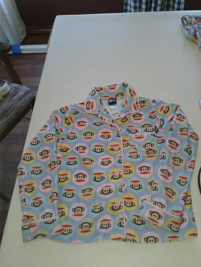 PAUL FRANK MONKEY BABY INFANT TODDLERS PJ'S PAJAMAS SIZE 5 T Collar SEE PICS