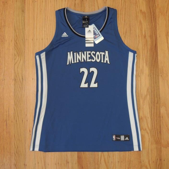Andrew Wiggins Minnesota Timberwolves Jersey Adidas NBA 4 Her Womens Size XL NEW