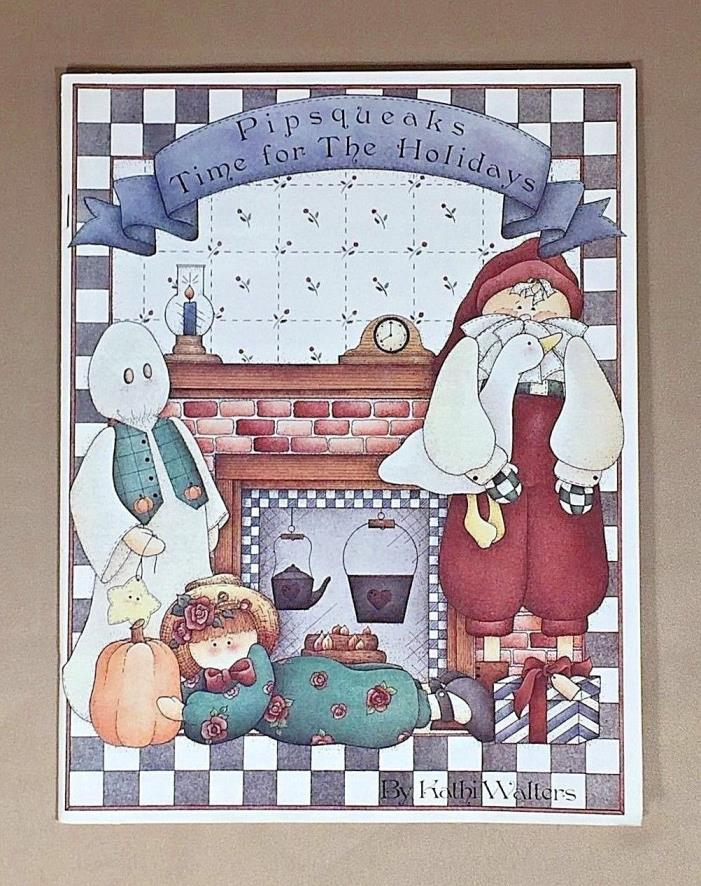 Signed by Author Kathi Walters • PIPSQUEAKS TIME FOR THE HOLIDAYS, 1995