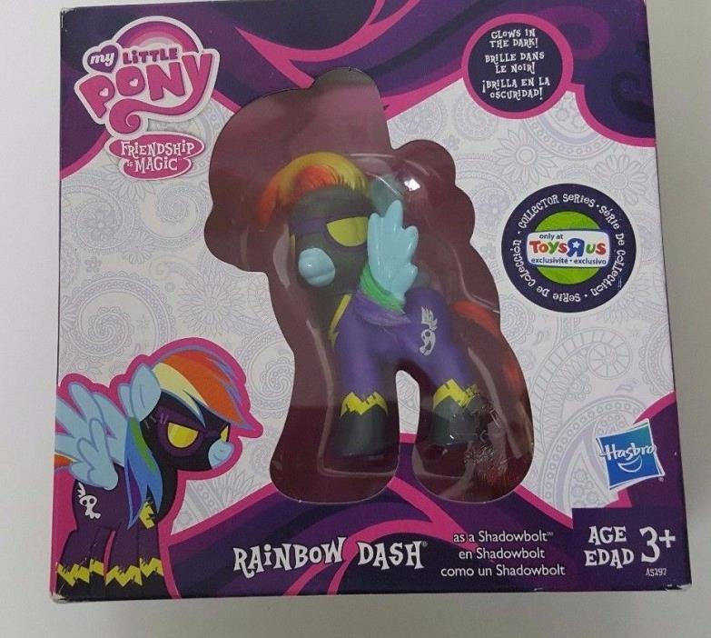My Little Pony Rainbow Dash as Shadowbolt Toys R Us Exclusive New