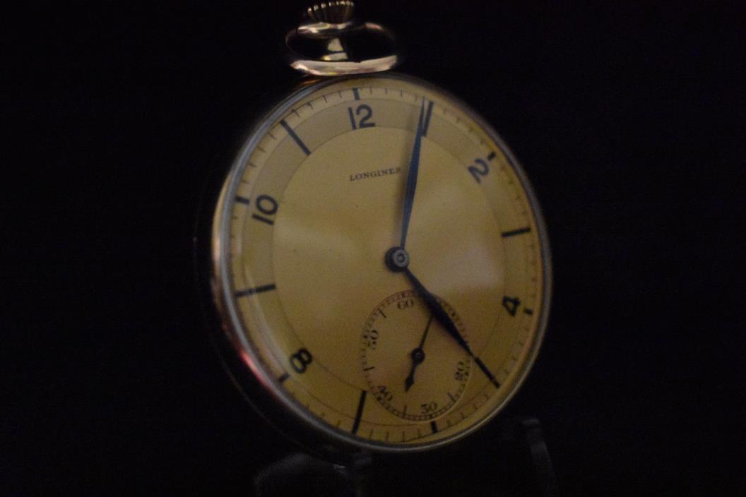 12size Longines 17 jewel ultra thin Pocket Watch
