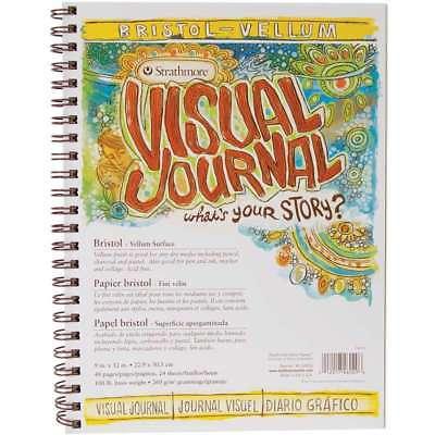 Strathmore Visual Journal Bristol Vellum 9