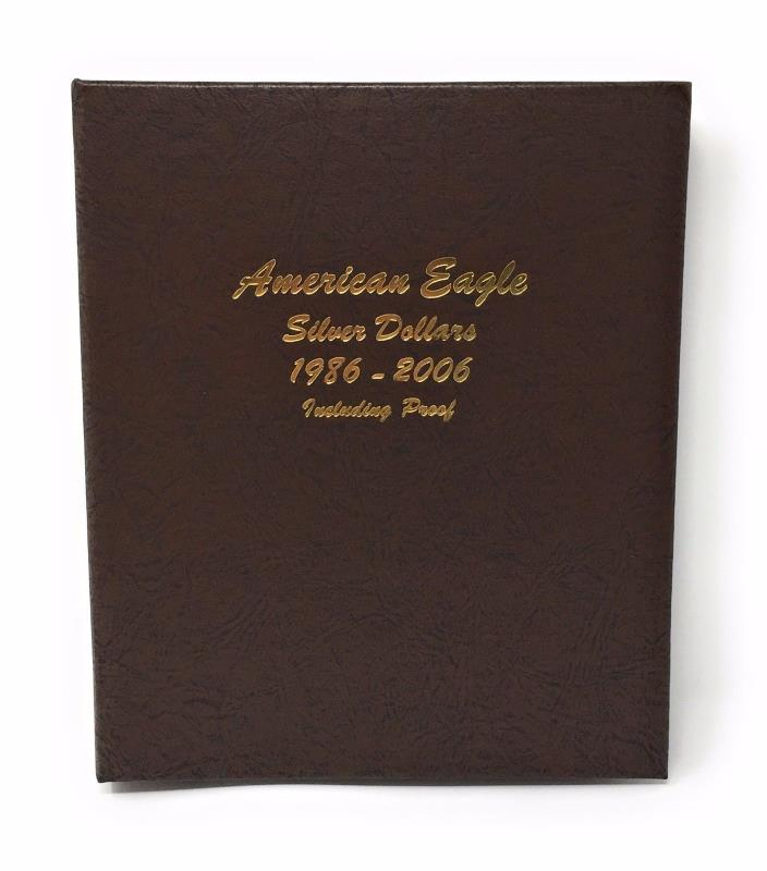 DANSCO Coin Album #8181 - AMERICAN EAGLE SILVER DOLLARS 1986-2006 - Brand New!