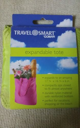 Travel Smart Expandable Lime Green Tote by Conair