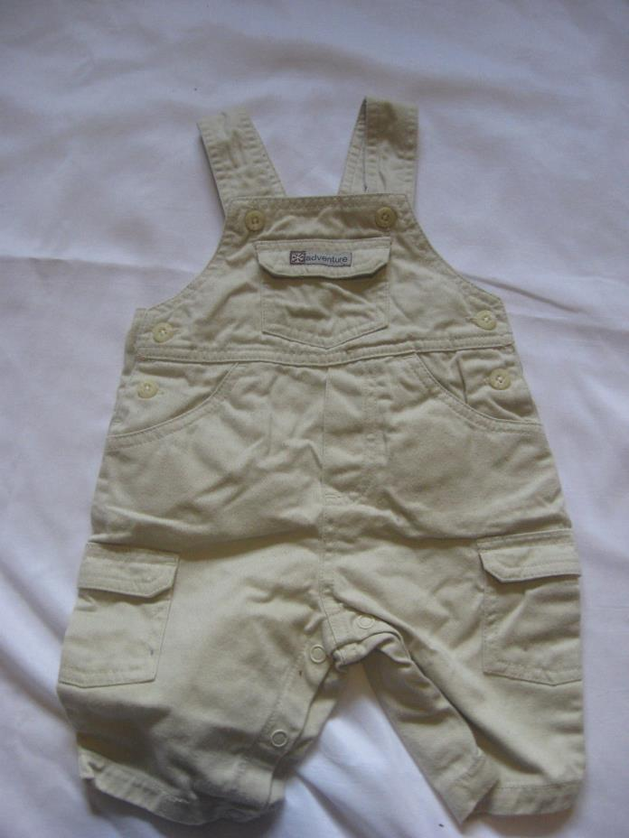Lullaby Club baby boy jumper size 3M khaki