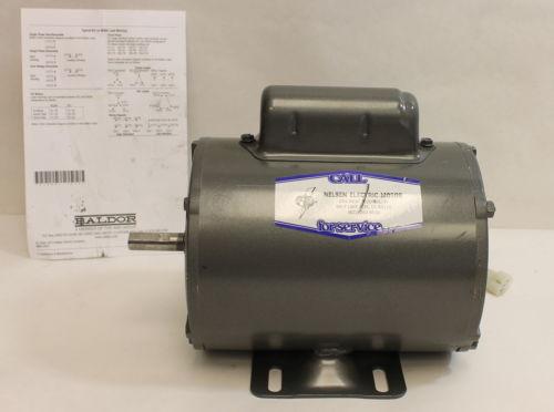 Baldor Reliance Motor - L1206 - .33HP , RPM 1725 , 115/230 Volts -