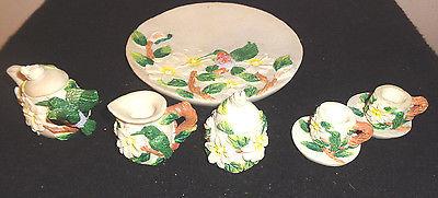 Lovely Hummingbird Miniature Tea Set