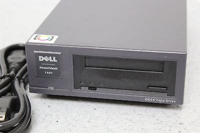 Dell PowerVault 100T SCSI External DDS4 Tape Drive Data Storage STD6401LW