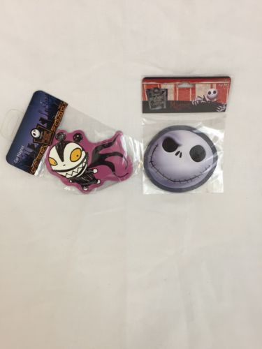 2 Car Magnet Nightmare Before Christmas  Scary Teddy & Grinning Jack Gifts