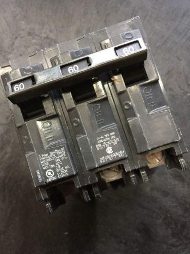 Siemans 60 Amp 3 Pole Breaker 10,000