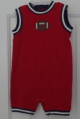 New W/Tags Gymboree Very Junior Varsity Football Shortall ~ Boy's 0-3M