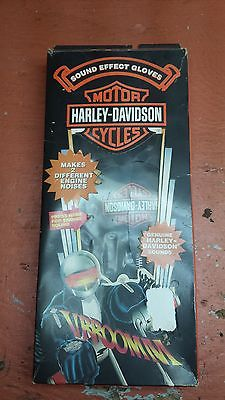 Harley Davidson Motorcycles Sound Effect Gloves vintage