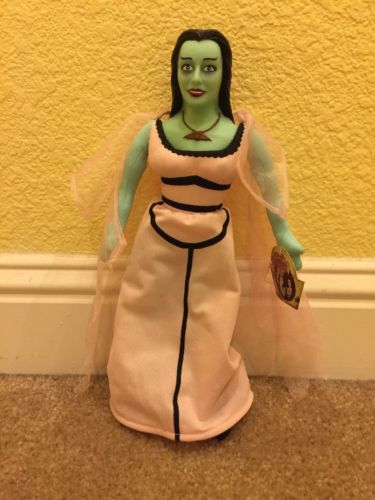 The Munsters New With Tag Lily Munster Character Plush Doll By Toy Works